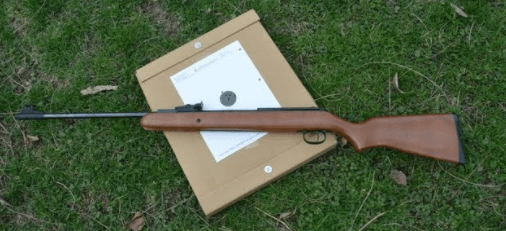 Diana RWS Model 34 Break Barrel Hardwood Stock Pellet Gun Air Rifle