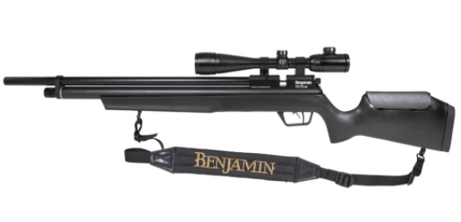 Benjamin Marauder Synthetic Stock PCP-Powered Multi-Shot Bolt-Action Pellet Hunting Air Rifle