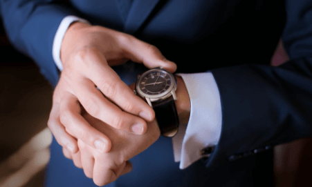 wrist watch for businessmen