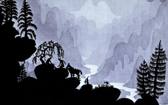silhouette cinema animation