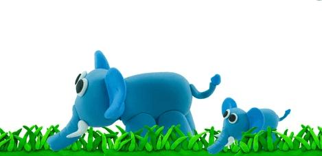 The animation of plasticine