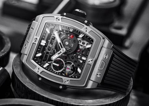 Big Bang Meca-10 Black Magic watch