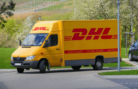 DHL transport